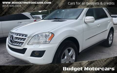2010 Mercedes-Benz M-Class for sale at Budget Motorcars in Tampa FL