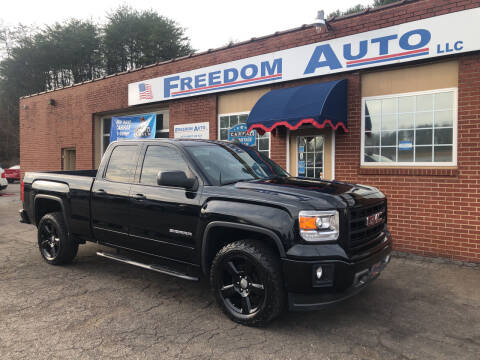 2015 GMC Sierra 1500 for sale at FREEDOM AUTO LLC in Wilkesboro NC