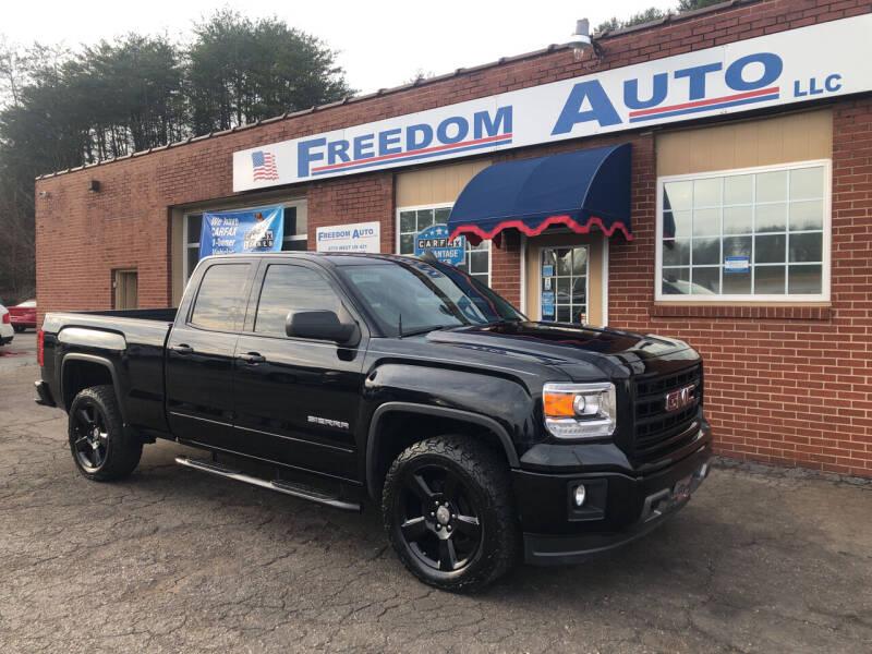 2015 GMC Sierra 1500 for sale at FREEDOM AUTO LLC in Wilkesboro NC