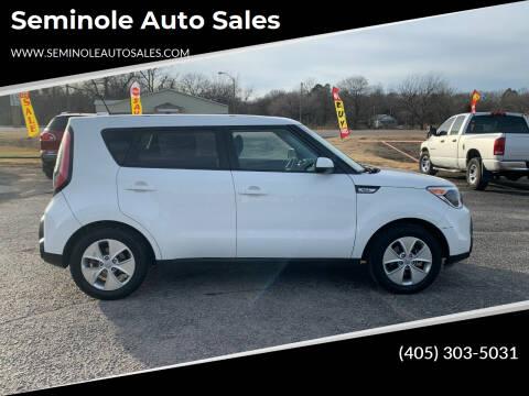 2016 Kia Soul for sale at Seminole Auto Sales in Seminole OK