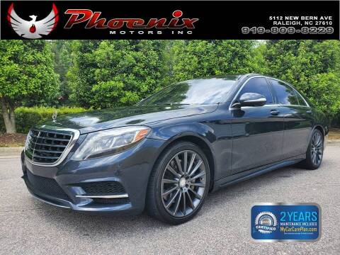 2015 Mercedes-Benz S-Class for sale at Phoenix Motors Inc in Raleigh NC