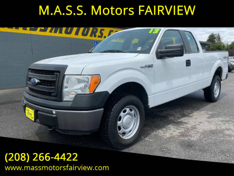 2013 Ford F-150 for sale at M.A.S.S. Motors - MASS MOTORS in Boise ID