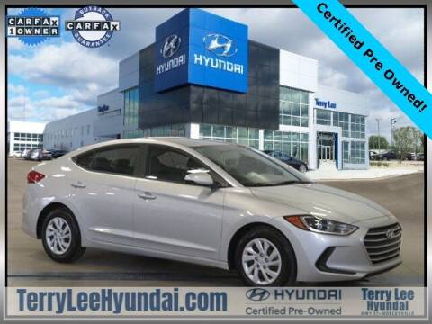 2018 Hyundai Elantra for sale at Terry Lee Hyundai in Noblesville IN
