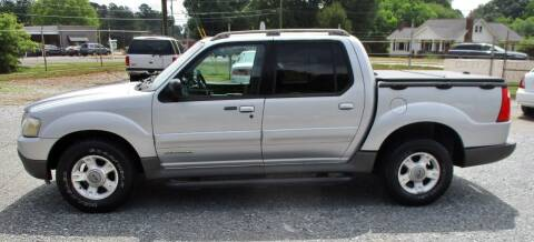 2001 Ford Explorer Sport Trac for sale at Family Auto Sales of Mt. Holly LLC in Mount Holly NC