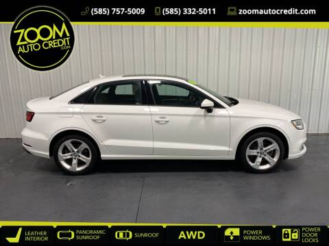 2017 Audi A3 for sale at ZoomAutoCredit.com in Elba NY