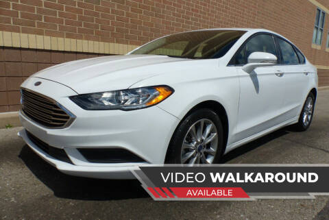 2017 Ford Fusion for sale at Macomb Automotive Group in New Haven MI