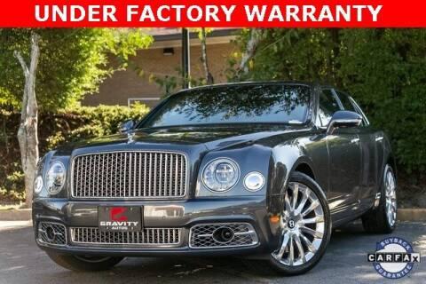 2017 Bentley Mulsanne for sale at Gravity Autos Atlanta in Atlanta GA
