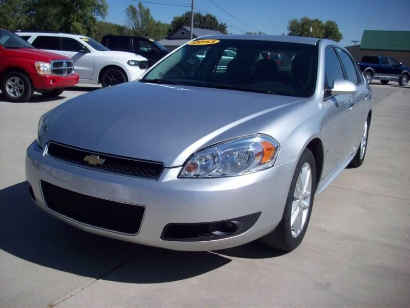 2013 Chevrolet Impala for sale at Nemaha Valley Motors in Seneca KS