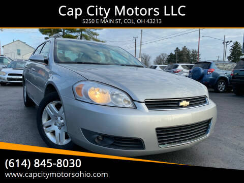 2007 Chevrolet Impala for sale at Cap City Motors LLC in Columbus OH