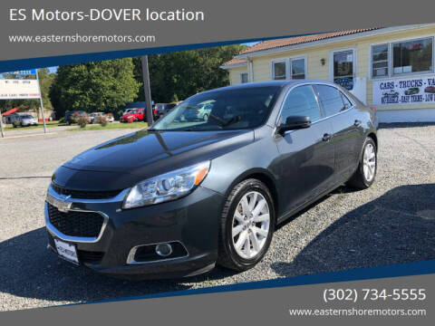 2015 Chevrolet Malibu for sale at ES Motors-DAGSBORO location - Dover in Dover DE