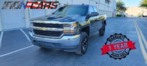 2019 Chevrolet Silverado 1500 LD for sale at IRON CARS in Hollywood FL