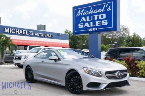 2016 Mercedes-Benz S-Class for sale at Michael's Auto Sales Corp in Hollywood FL