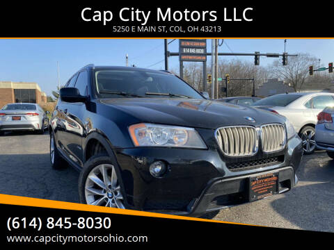2013 BMW X3 for sale at Cap City Motors LLC in Columbus OH