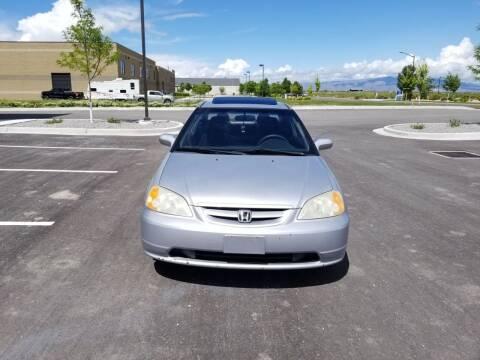 2003 Honda Civic for sale at FRESH TREAD AUTO LLC in Springville UT