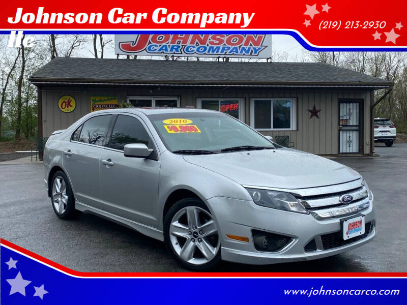 2010 Ford Fusion for sale at Johnson Car Company llc in Crown Point IN