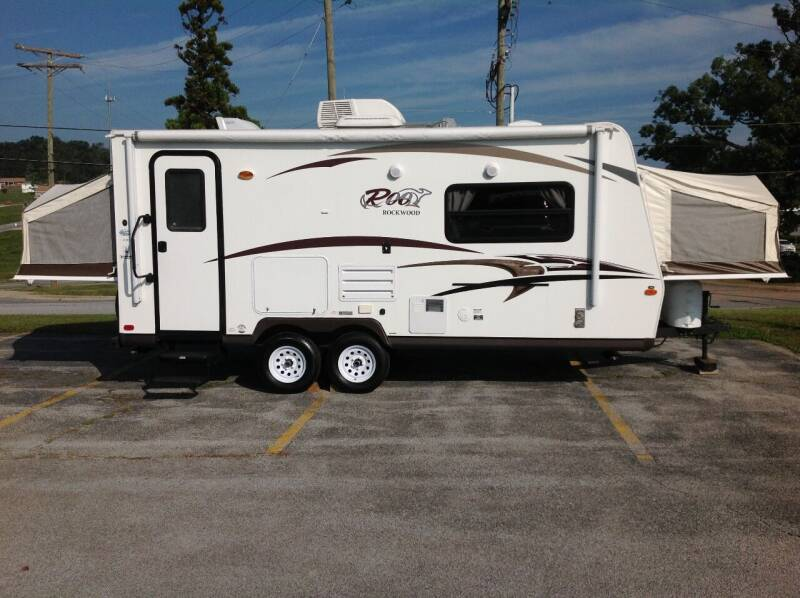 2015 Rockwood Roo Hybrid 21 DK for sale at Vernon Auto and Camper Sales in York PA