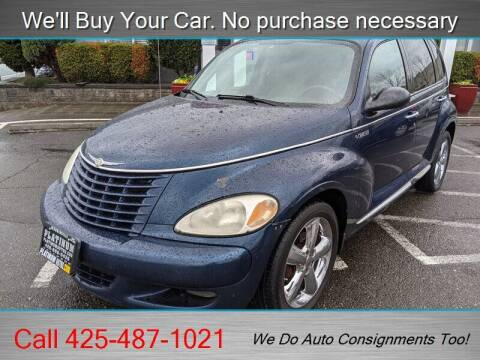 2003 Chrysler PT Cruiser for sale at Platinum Autos in Woodinville WA