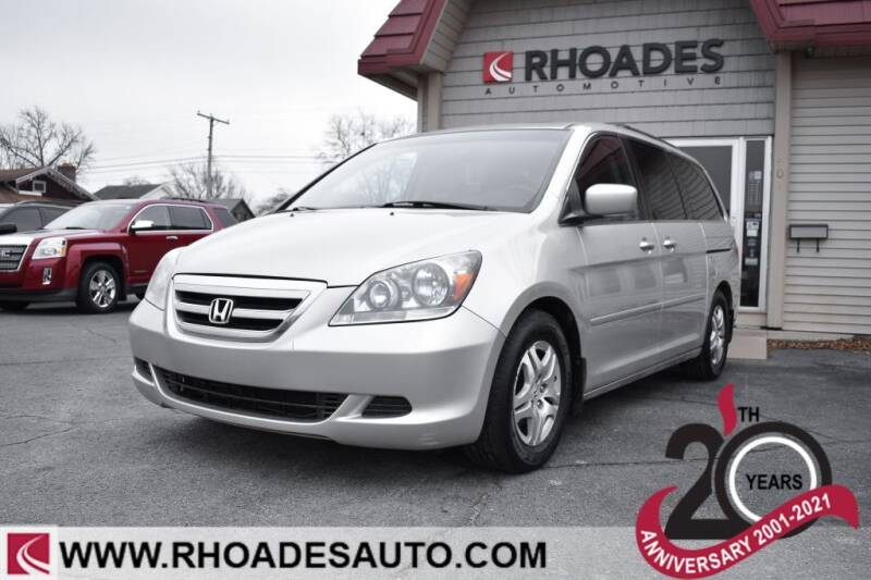 2007 Honda Odyssey for sale at Rhoades Automotive in Columbia City IN