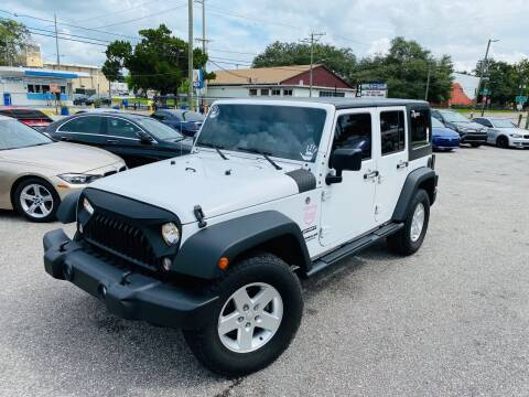 2016 Jeep Wrangler Unlimited for sale at CHECK  AUTO INC. in Tampa FL