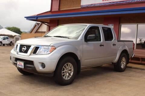 2019 Nissan Frontier for sale at Ohana Motors in Lihue HI