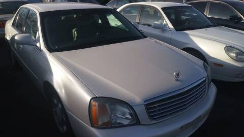 2001 Cadillac DeVille for sale at ABC AUTO CLINIC - Chubbuck in Chubbuck ID