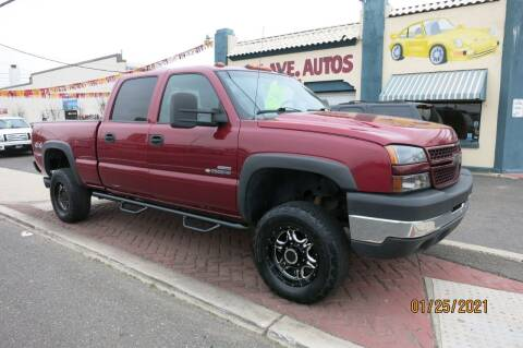 2006 Chevrolet Silverado 2500HD for sale at PARK AVENUE AUTOS in Collingswood NJ