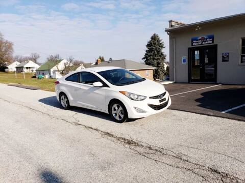 2013 Hyundai Elantra Coupe for sale at Hackler & Son Used Cars in Red Lion PA