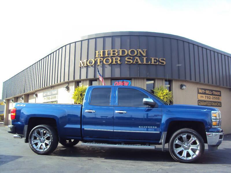 2014 Chevrolet Silverado 1500 for sale at Hibdon Motor Sales in Clinton Township MI