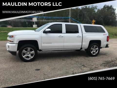 2016 Chevrolet Silverado 1500 for sale at MAULDIN MOTORS LLC in Sumrall MS