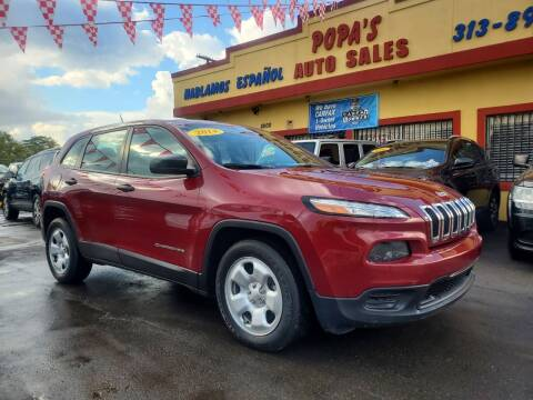 2014 Jeep Cherokee for sale at Popas Auto Sales in Detroit MI