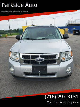 2012 Ford Escape for sale at Parkside Auto in Niagara Falls NY