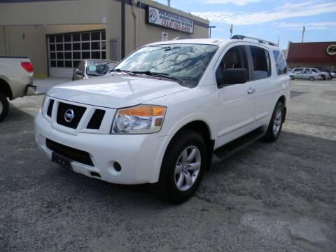 2013 Nissan Armada for sale at Meridian Auto Sales in San Antonio TX