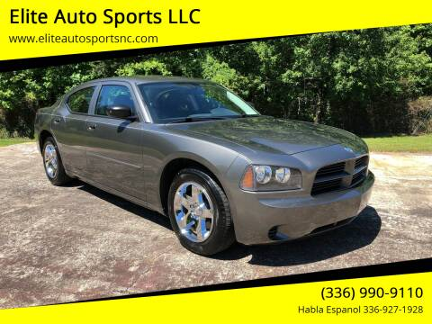 2009 Dodge Charger for sale at Elite Auto Sports LLC in Wilkesboro NC