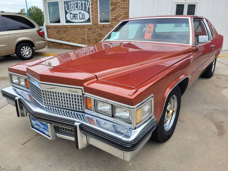 1977 Cadillac DeVille for sale at Liberty Car Company in Waterloo IA