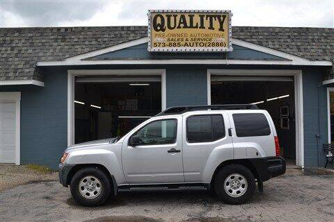 2006 Nissan Xterra for sale at Quality Pre-Owned Automotive in Cuba MO