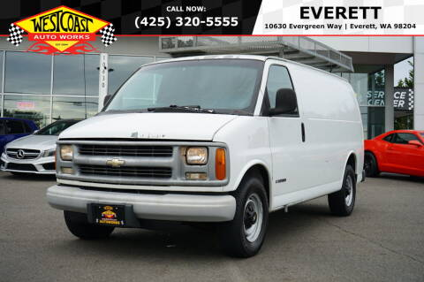 2000 Chevrolet Express Cargo for sale at West Coast Auto Works in Edmonds WA