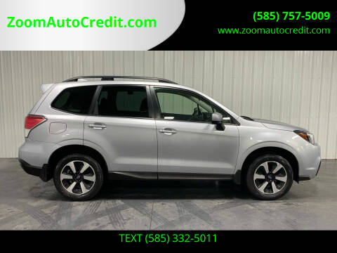 2018 Subaru Forester for sale at ZoomAutoCredit.com in Elba NY