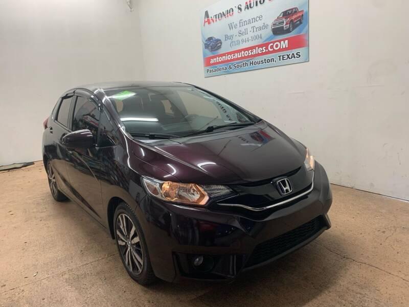 2015 Honda Fit for sale at Antonio's Auto Sales - Antonio`s  2206 in Pasadena TX