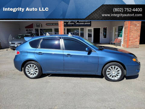 2010 Subaru Impreza for sale at Integrity Auto LLC - Integrity Auto 2.0 in St. Albans VT