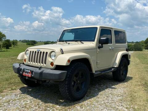 2011 Jeep Wrangler for sale at TINKER MOTOR COMPANY in Indianola OK