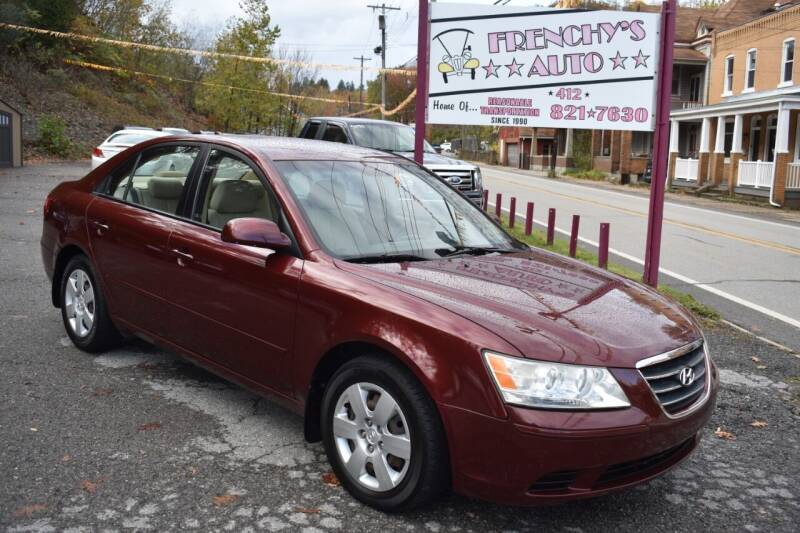 2009 Hyundai Sonata for sale at Frenchy's Auto LLC. in Pittsburgh PA