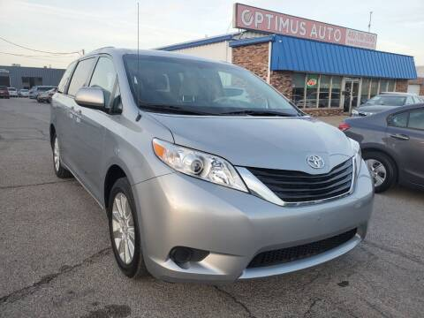 2014 Toyota Sienna for sale at Optimus Auto in Omaha NE