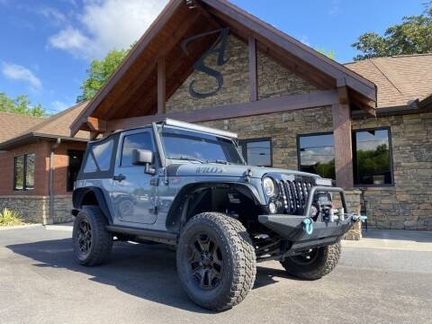 2014 Jeep Wrangler for sale at Auto Solutions in Maryville TN