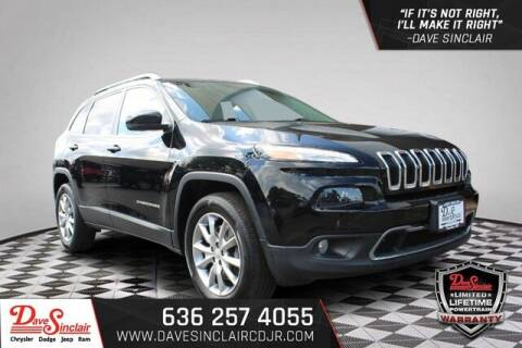 2018 Jeep Cherokee for sale at Dave Sinclair Chrysler Dodge Jeep Ram in Pacific MO