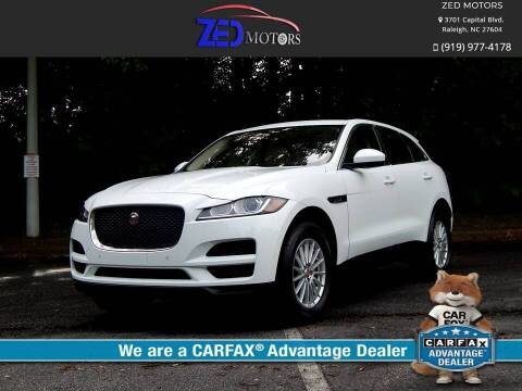 2019 Jaguar F-PACE for sale at Zed Motors in Raleigh NC
