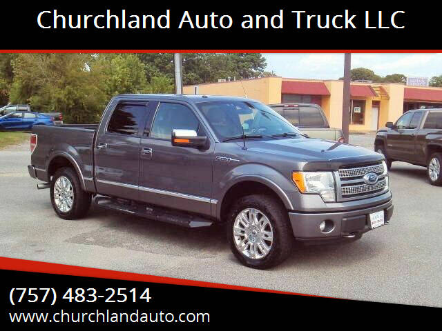 2011 Ford F-150 for sale at Churchland Auto and Truck LLC in Portsmouth VA