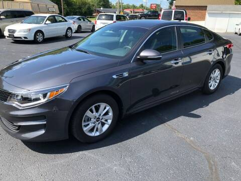 2017 Kia Optima for sale at Teds Auto Inc in Marshall MO