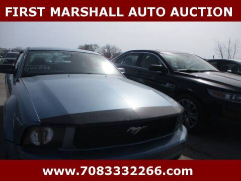 2005 Ford Mustang for sale at First Marshall Auto Auction in Harvey IL