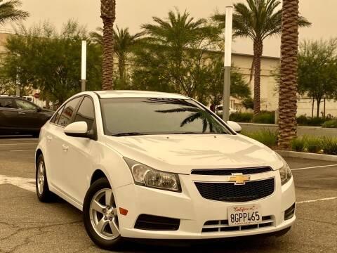 2012 Chevrolet Cruze for sale at Car Hero LLC in Santa Clara CA