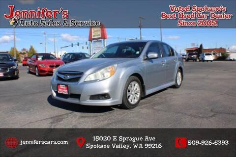2012 Subaru Legacy for sale at Jennifer's Auto Sales in Spokane Valley WA